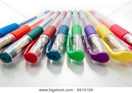 Gel pen collection