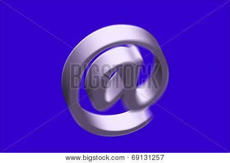 E-mail Internet Icon Button