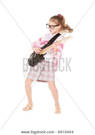 Chica de la guitarra