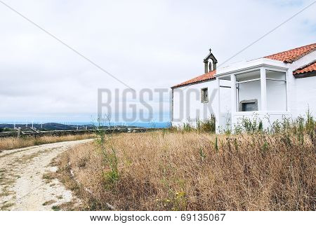 Chapel On Cape Vilan, Costa Da Morte, Galicia