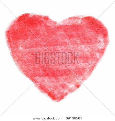Red Felt Pen Heart