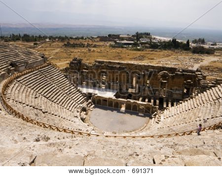 Remains Of Ancient Greek Theater