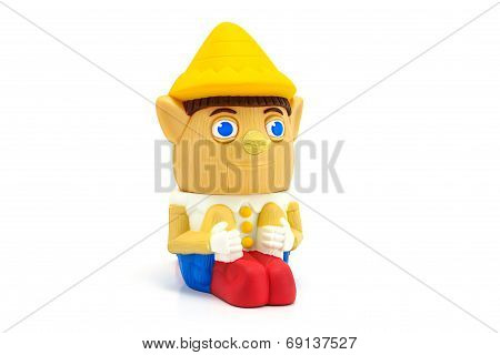 Pinocchio Character Form Shrek 3 Movie