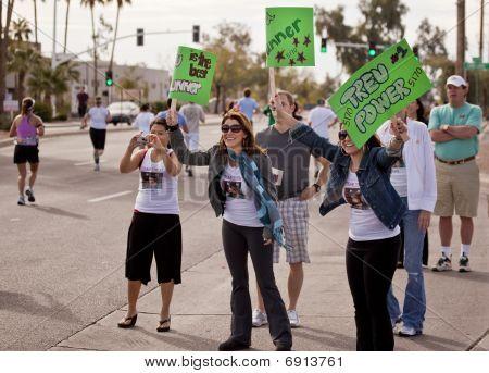 Spectators at the 2010 Phoenix Marathon