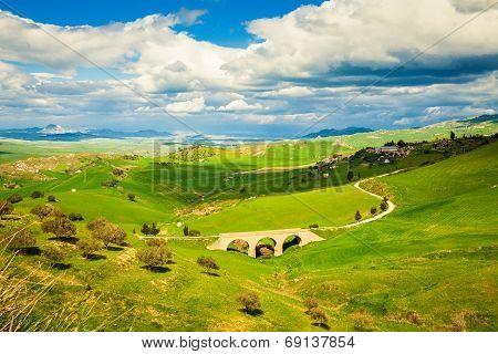 Landscape With Small Bridge