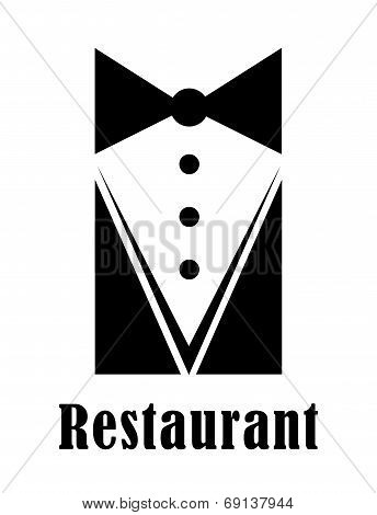 Restaurant badge or sign