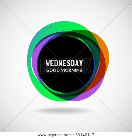 Wednesday?