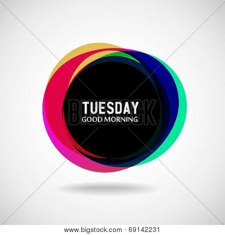 Tuesday?