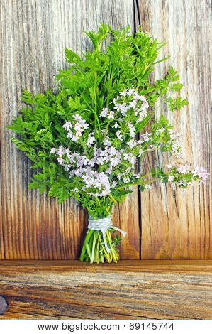 chervil and thyme