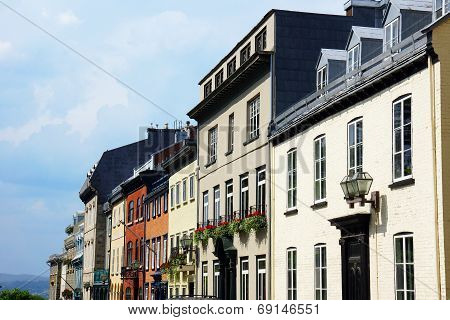 Houses In Old Quebec City
