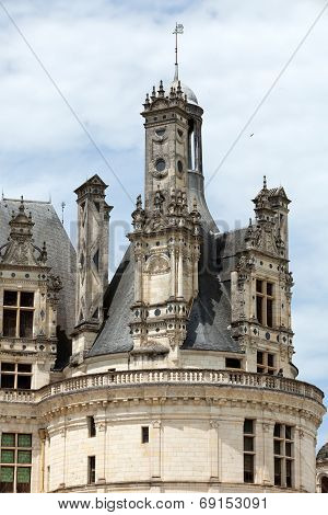 Castle of Chambord in Cher Valley France