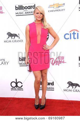 LAS VEGAS - MAY 18:  Miranda Lambert arrives to the Billboard Music Awards 2014  on May 18, 2014 in Las Vegas, NV