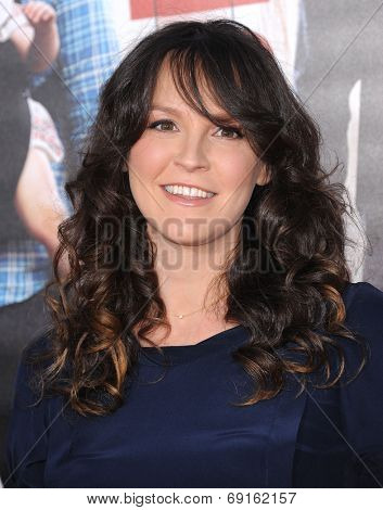 LOS ANGELES - APR 13:  Carla Gallo arrives to the