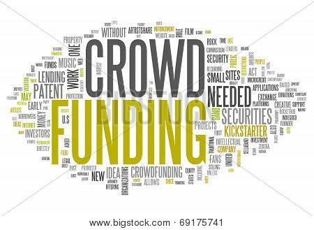 Word Cloud Crowd Funding