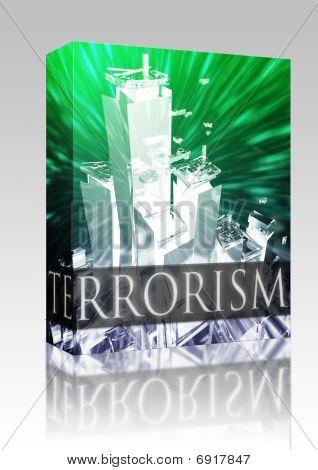 Terrorismus Angriff im Paket