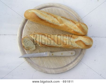 Two Fresh Bread