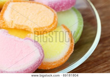 Gumdrops On A Plate