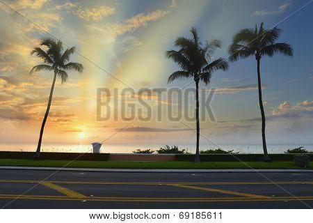 Tropical Beach Sunrise