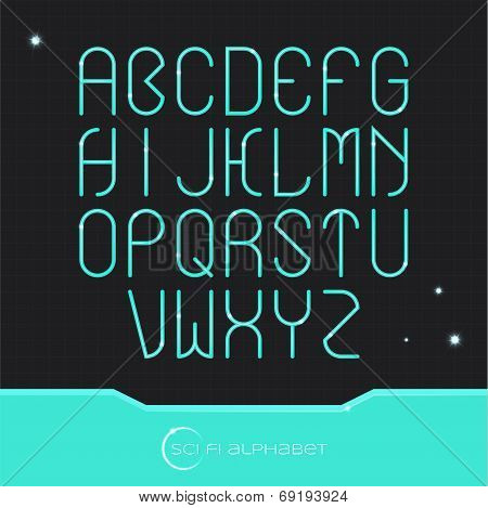Sci Fi Alphabet