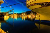 stock photo of tall ship  - BERGEN NORWAY  - JPG