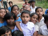 picture of school child  - PURI INDIA  - JPG
