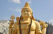 image of shiva  - Shiva temple located in Bangalore - JPG