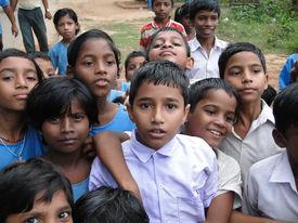 picture of school child  - PURI INDIA  - JPG