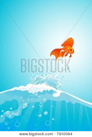 Goldfish Jump.eps
