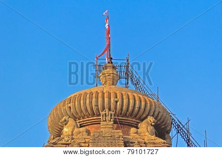 Dome Of Lingaraj Temple