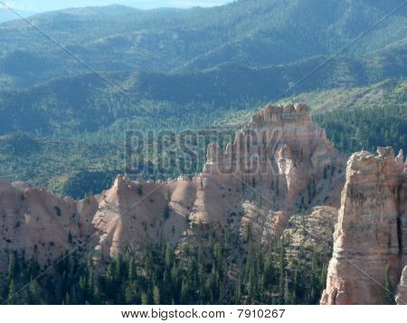 The Landscape of Bryce Canyon.