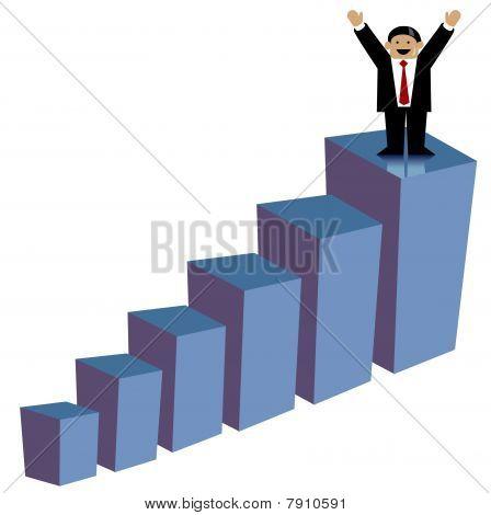 Succesful business man
