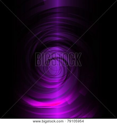 Dark Purple spiral background