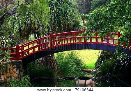Japanese Style Walk Bridge