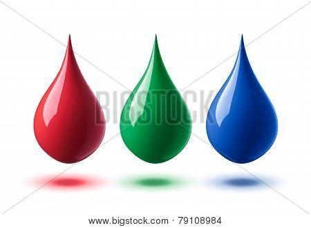 Rgb Droplets