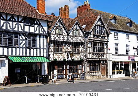 Tudor Buildings, Stratford-upon-Avon.