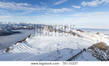 Snow Ski Slope