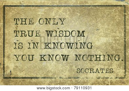 True Wisdom-print