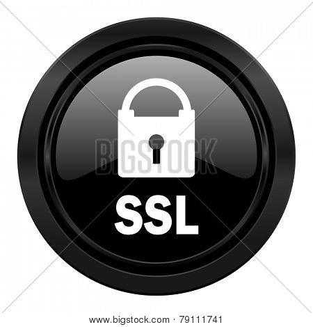 ssl black icon