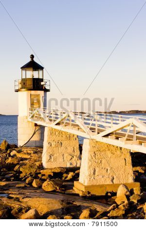 Marshall Point Lighthouse Maine USA