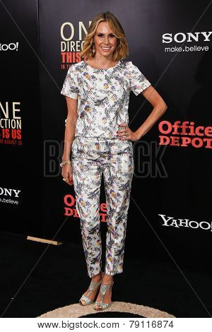 NEW YORK-AUG 26: Actress Keltie Knight attends the New York premiere of 'One Direction: This Is Us' at the Ziegfeld Theater on August 26, 2013 in New York City.