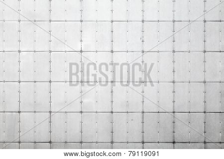 Abstract Background Photo Texture Of Gray Metal Wall