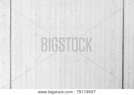 White Grungy Concrete Wall Background Texture