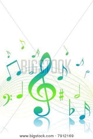 Fondo de música