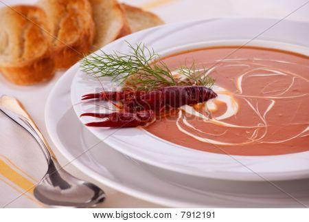 Fish Cream Soup