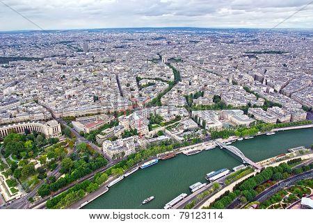 Up View Of Paris