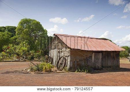 Guyana old building