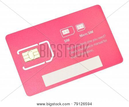 Mobile Phone SIM Card
