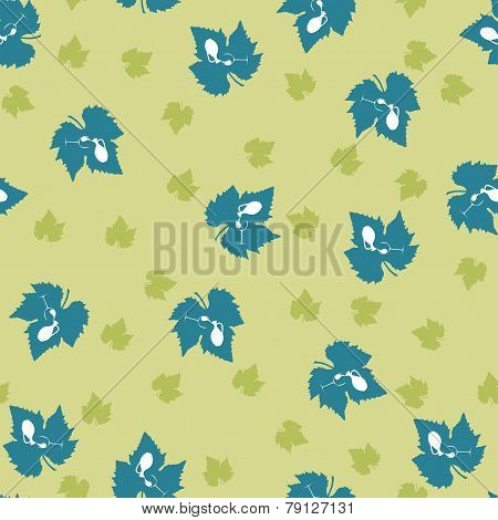 Grape leaf pattern