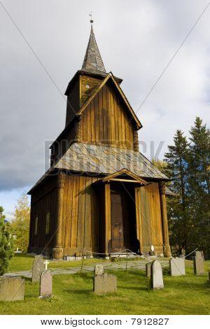Torpo Stavkirke in south Norway