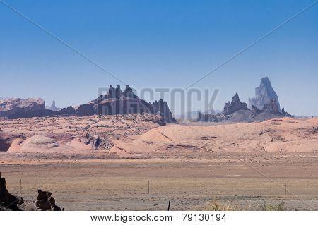 Rocks Formation On Navajo Land